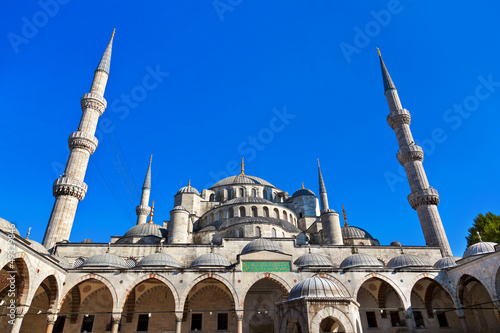 Blue mosque in Istanbul Turkey Poster