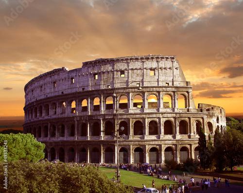 Fotografia Colosseum in Rome, Italy