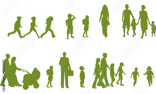 Photo  silhouettes