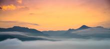 Foggy Valley, Mae Hong Son, Thailand