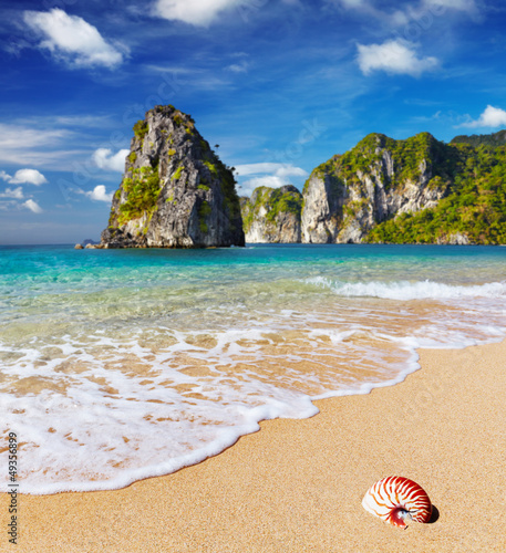 Foto-Rollo - Tropical beach (von Dmitry Pichugin)