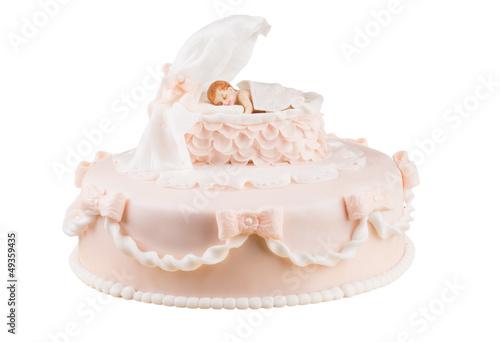 Handmande Birthday Cake Shot In A Closeup Scene Buy This Stock