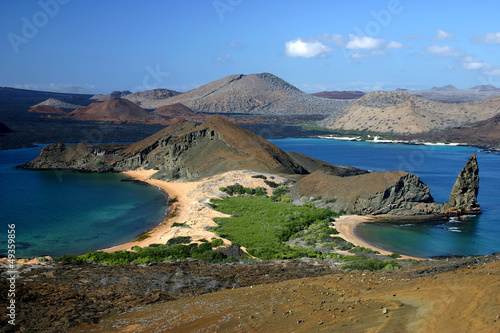 Photo Stands South America Country Galapagos Islands