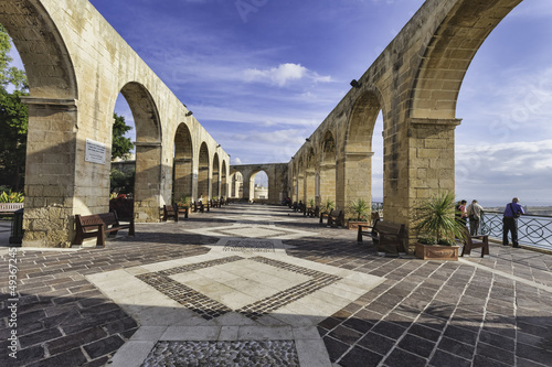 Canvas Prints Artistic monument Upper Barrakka Gardens, Malta