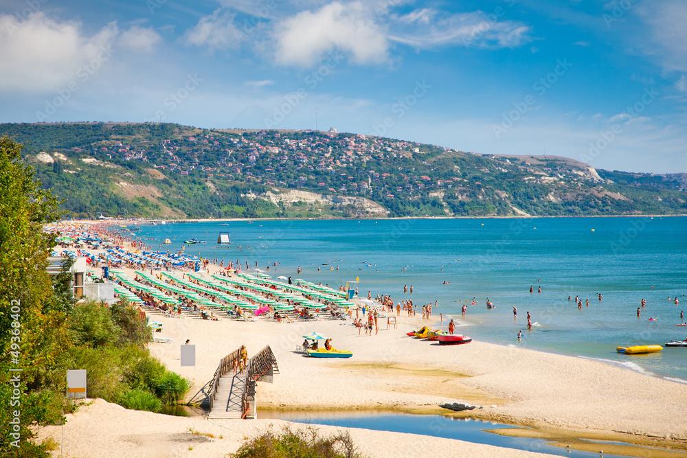 Fototapety, obrazy: Golden sands beach in Bulgaria.