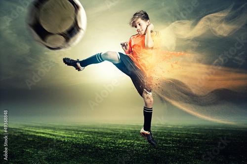 Foto-Schmutzfangmatte - Soccer (von lassedesignen)