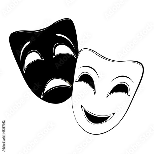 Photo  Theatrical masks