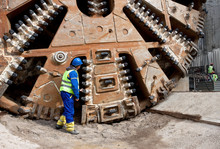 Huge Tunnel Boring Machine