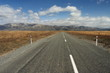 road to Southern Alps, New Zealand