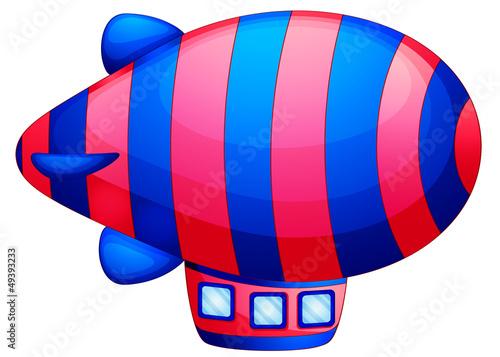 Papiers peints Avion, ballon A colorful spaceship