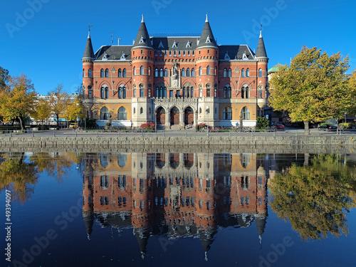 Foto auf Gartenposter Stadt am Wasser Allehandaborgen in Orebro, Sweden