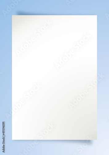 Fotografie, Tablou  Pagina vuota - Page empty