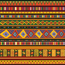 Ethnic Colorful Pattern Africa...