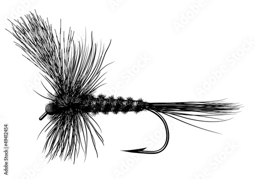 Tablou Canvas Tied Dry Fly