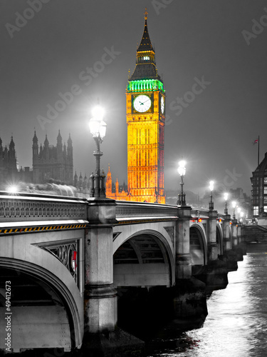 Foto op Canvas Londen The Big Ben, London, UK