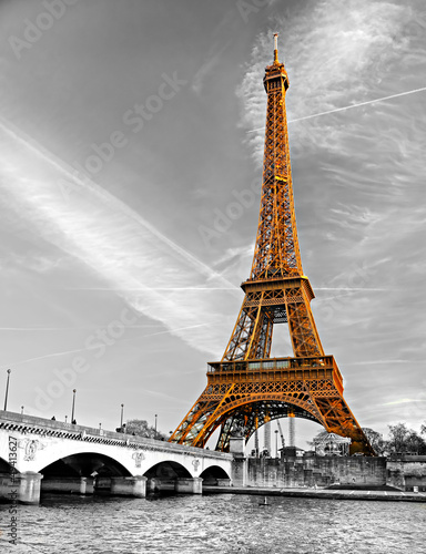 Eiffel tower, Paris. #49413627