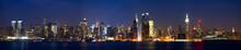 Manhattan Skyline Panorama At ...