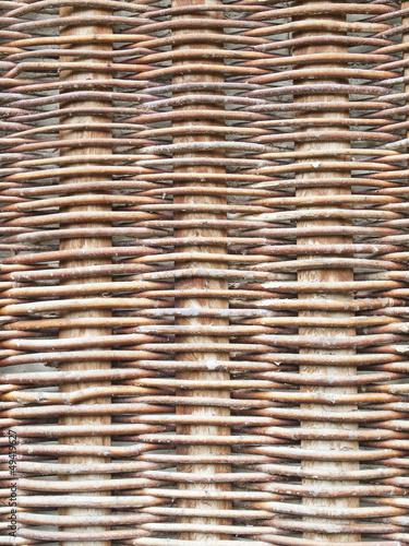 Fotografía  rustic woven wicker