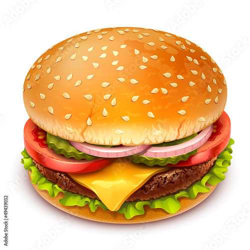 Fotografia, Obraz hamburger icon