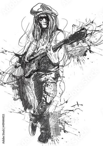 mlody-gitarzysta-rysunek-odreczny-przerobiony-na-ve