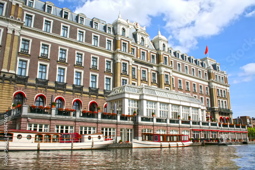 Photo  Amstel hotel in Amsterdam
