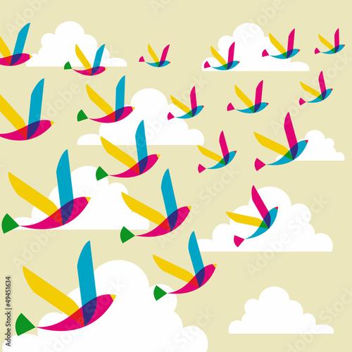 przejrzysty-wzor-ptakow