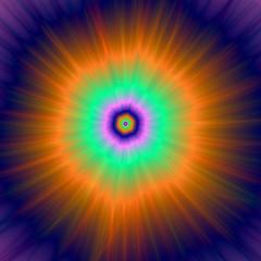 FototapetaPsychedelic Super Nova