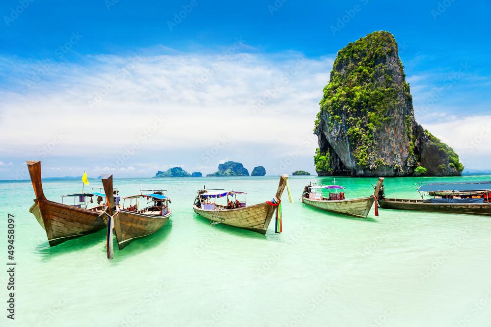 Fototapeta Longtale boat