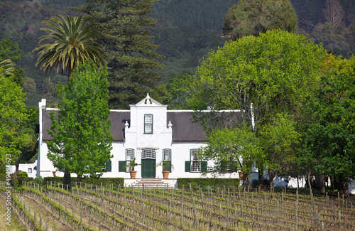 Garden Poster South Africa Buitenverwachting Manor House