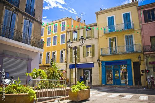 city centre of Aubagne, near Marseille, France Wallpaper Mural