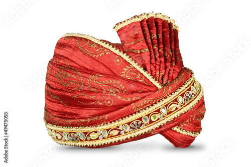 Valokuvatapetti Indian Headgear used in Marriages