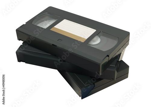 Fotografie, Obraz  VHS-Kassette