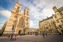 Sunset Over Westminster Abbey ...