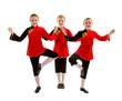 Jazz Dancer Trio in Asian Inspired Costume