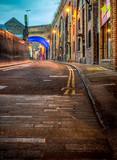 Ulica Londynu nocą