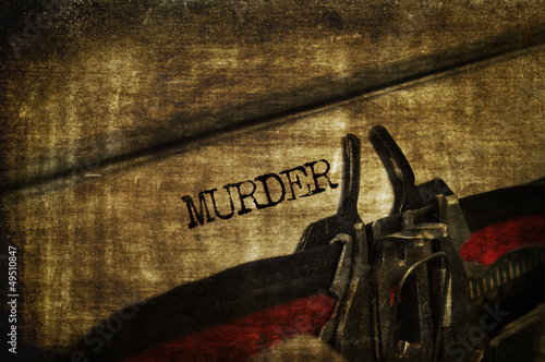 Obraz na plátně murder