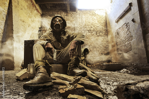Obraz War hero - fototapety do salonu