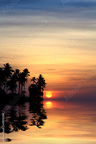 Beautiful sunrise in Rawai Phuket #49513044