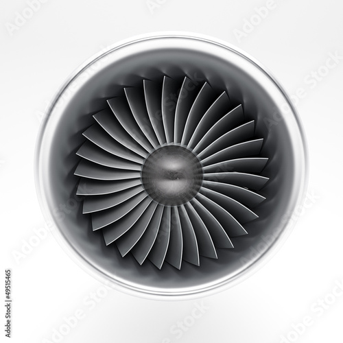 Jet engine Wall mural