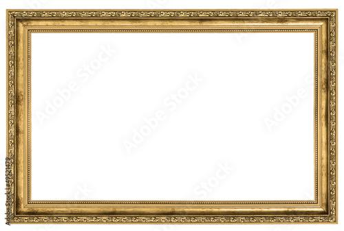 Obraz large golden frame - fototapety do salonu