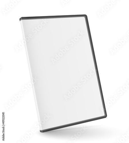 Fotografía DVD box isolated on white