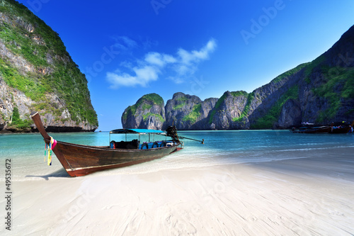 Photo Maya bay Phi Phi Leh island, Thailand