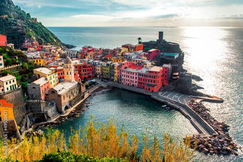 Recess Fitting Liguria Aerial view of Vernazza