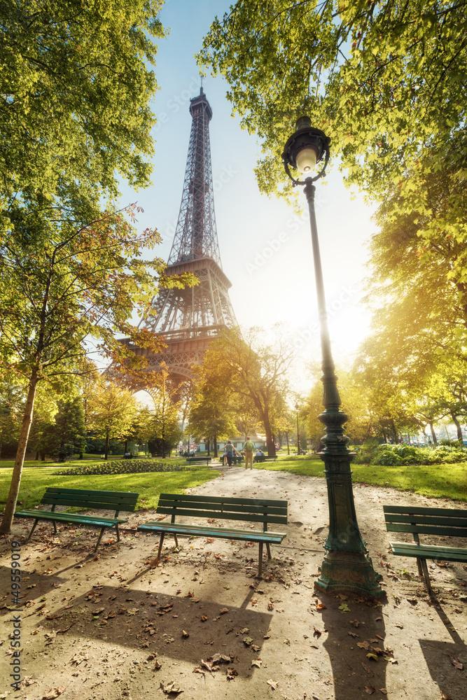 Fototapety, obrazy: Wieża Eiffla Paryż Francja