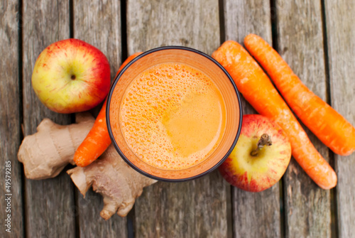 Photo sur Toile Jus, Sirop healthy juice