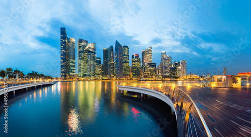Tuinposter Singapore Singapour