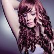 Portrait elegante Lady mit rotem Haar / haircolors-21