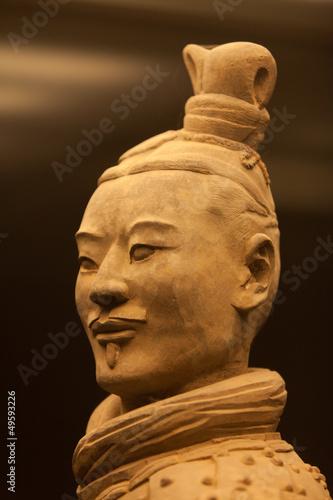 Foto op Plexiglas Xian Terracotta warrior in close up