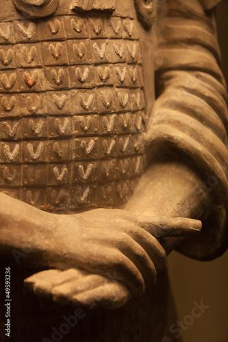 Foto op Plexiglas Xian Terracotta warrior hands, China