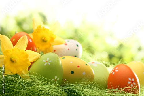 Easter Decoration Canvas Print